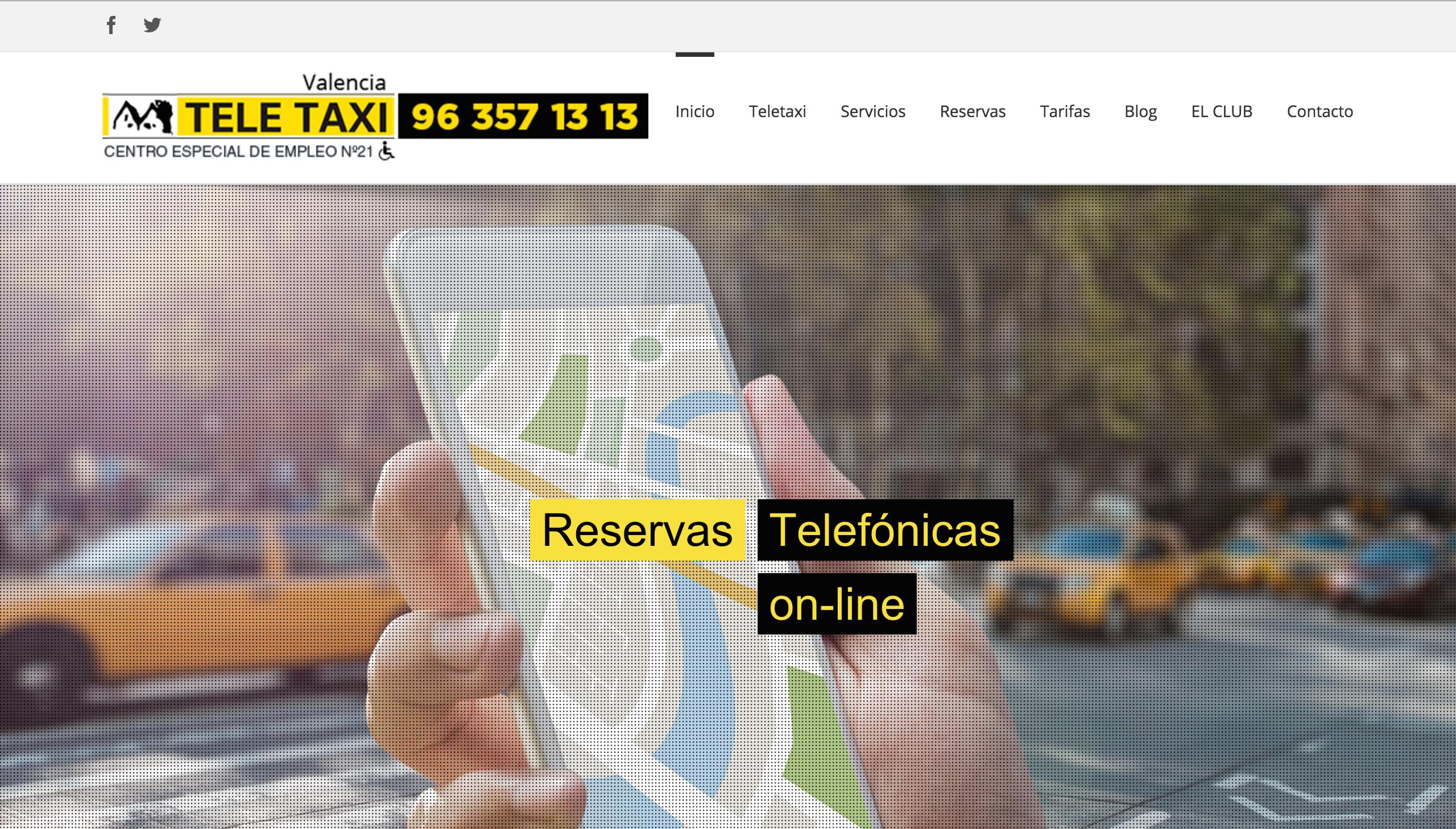 Teletaxi web
